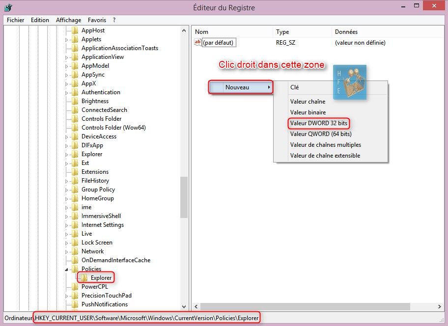 Masquer un disque dans l 39 explorateur windows vista 7 et for Fenetre explorateur windows 7